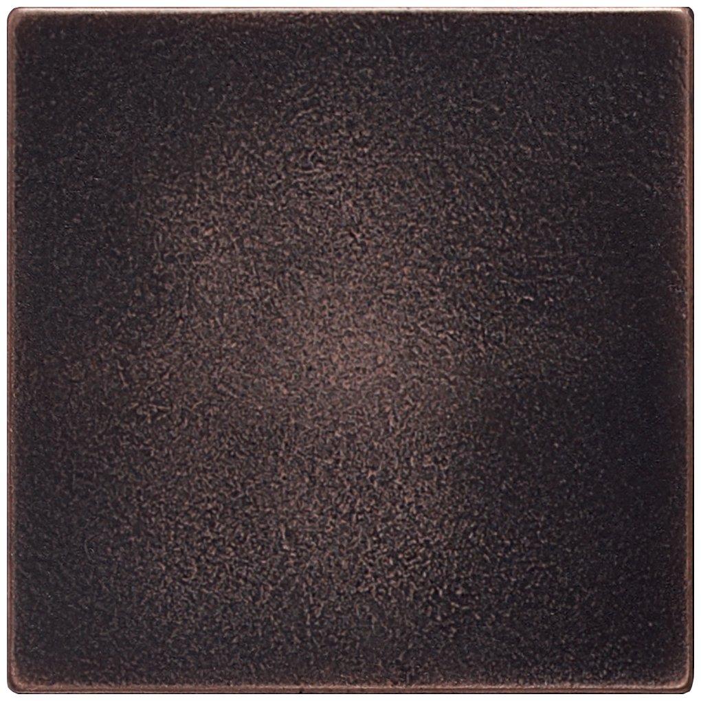 Dal-Tile 441P-IM03 Ion Metals Tile,, 4.25'' x 4.25'',, Oil Rubbed Bronze