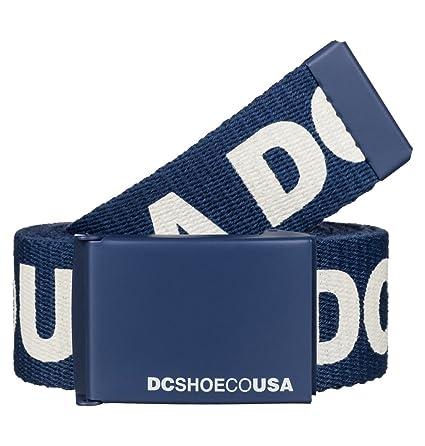 nueva varios colores fotos nuevas DC Cinturón De Tela Chinook 6 Vintage Indigo (Default, Azul)