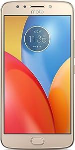 Moto E E4 Plus (4th Gen.) 16GB Unlocked Fine Gold XT1775 Smartphone