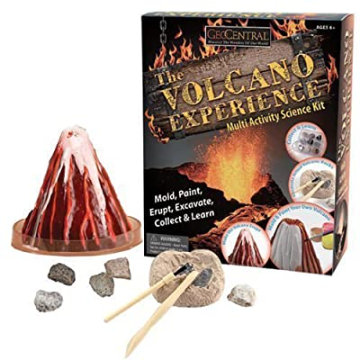 The Volcano Experience -This Multi-activity Kit Has Enough to Keep Anyone Interested in Volcanos Busy: Toys & Games
