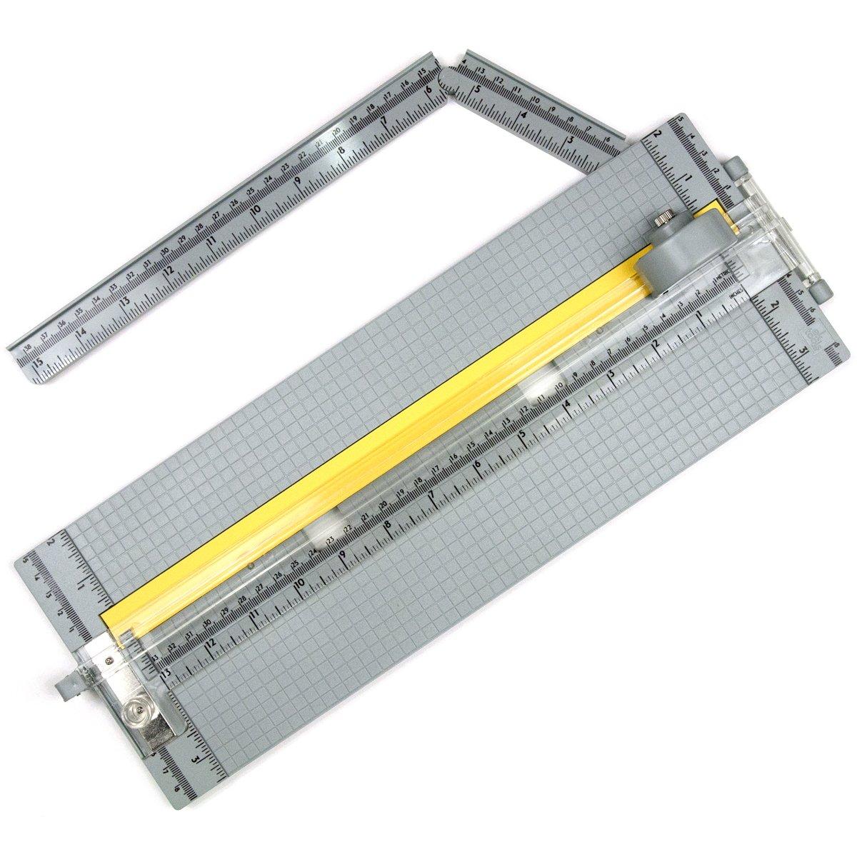EK Tools Cortadora de papel rotativa