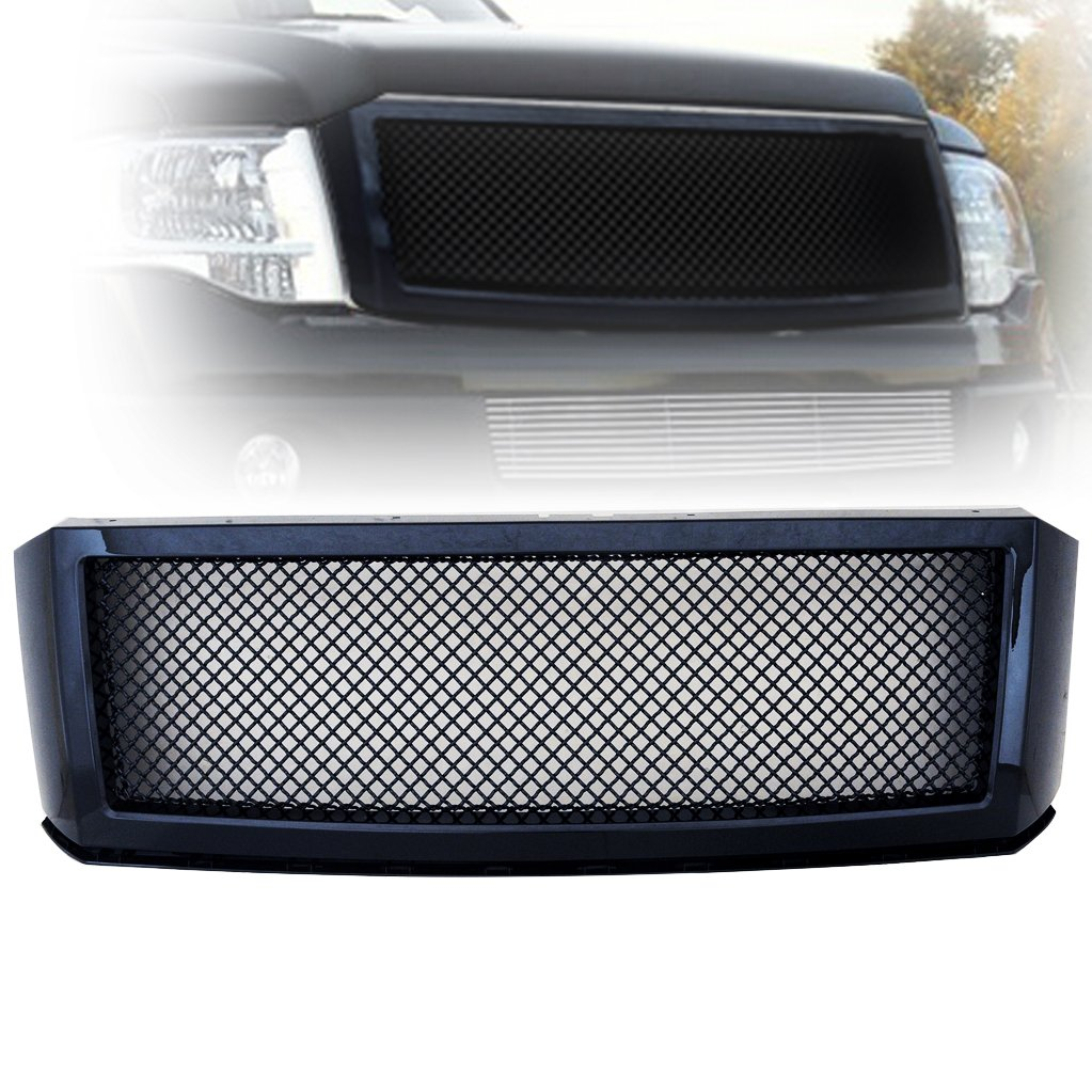 E-Autogrilles 07-14 Ford Expedition Black Stainless Steel ...