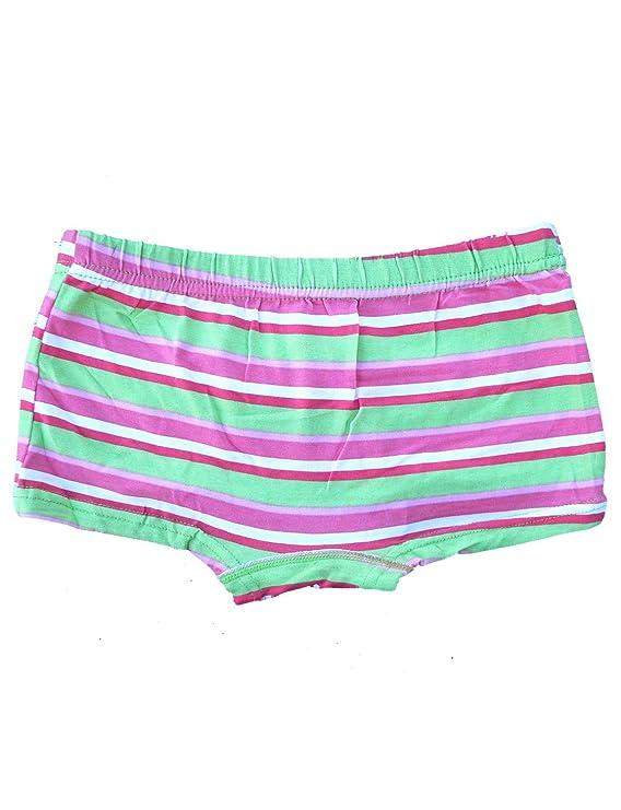 a37a865289bd13 Mädchen Unterhosen 5er Pack Panty Slip Farbmix