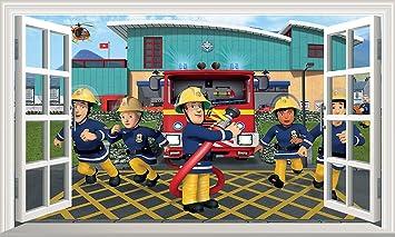 Feuerwehrmann sam wandtattoo prinsenvanderaa - Feuerwehrmann sam wandtattoo ...