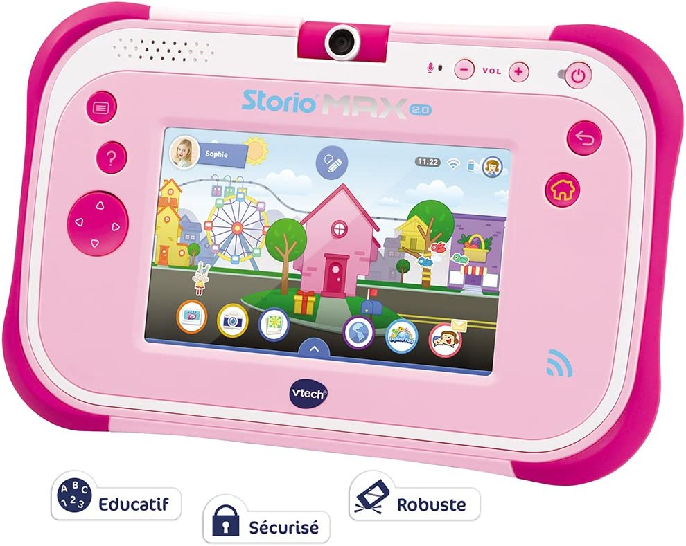 Amazon.es: VTech 108855 – Tablet Storio MAX 2.0, 5 Pulgadas, Rosa