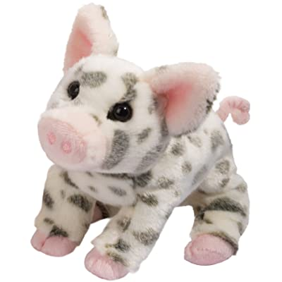 Douglas Pauline Spotted Pig Small Plush Stuffed Animal: Toys & Games