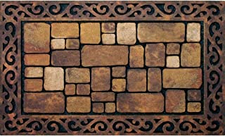 product image for Apache Mills Masterpiece Aberdeen Door Mat, 18-Inch by 30-Inch