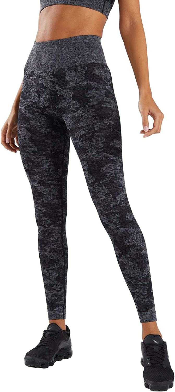 M MOYOOGA Yoga Pants for Women High Waisted Workout Leggings for Gym Athletic Running Tights