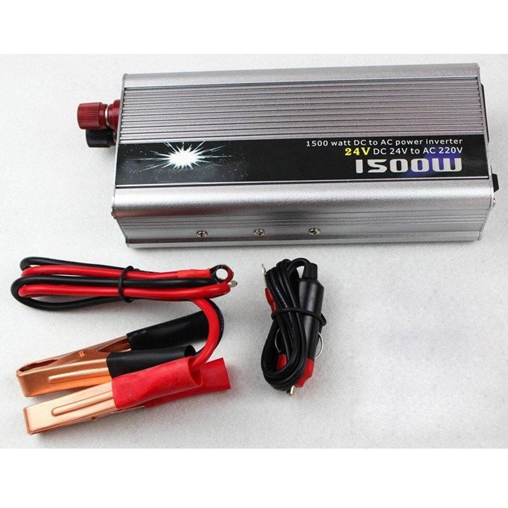 BoomBoost Portable 1000W Car Power Inversor Adaptador USB DC 24V AC 220V Cargador Convertidor