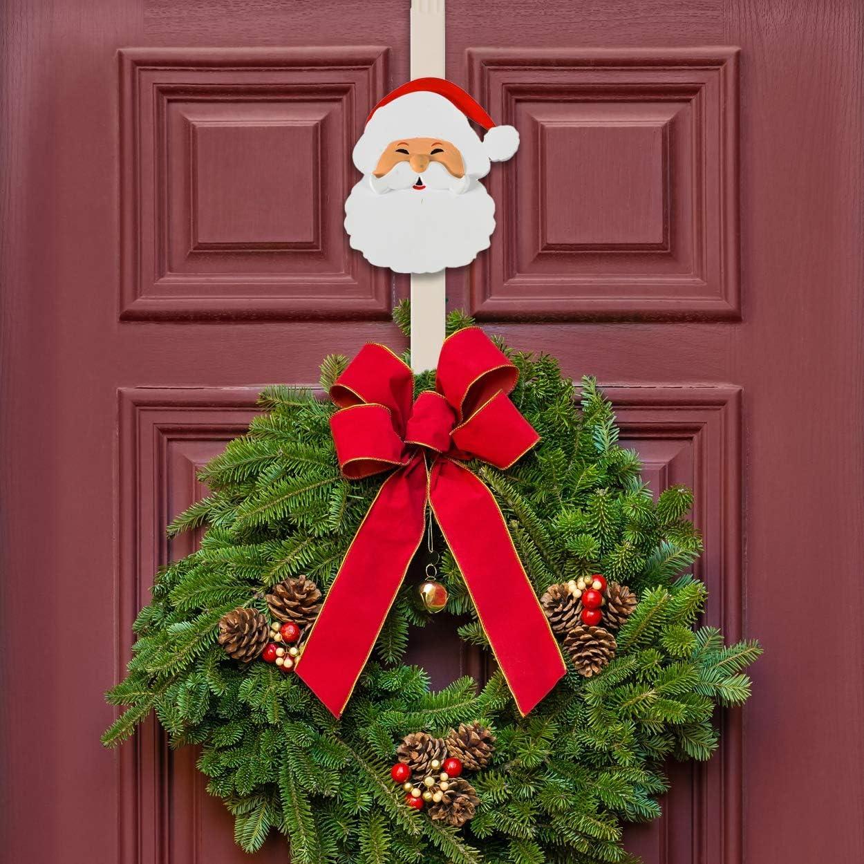 Wreath Accessory Christmas wreath hanger Decorative hook Over the door wreath hanger Over the door hook Wreath hanger