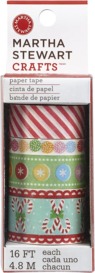 Martha Stewart Crafts 12 by 12-Inch Paper Pad Pastel 42 Sheets