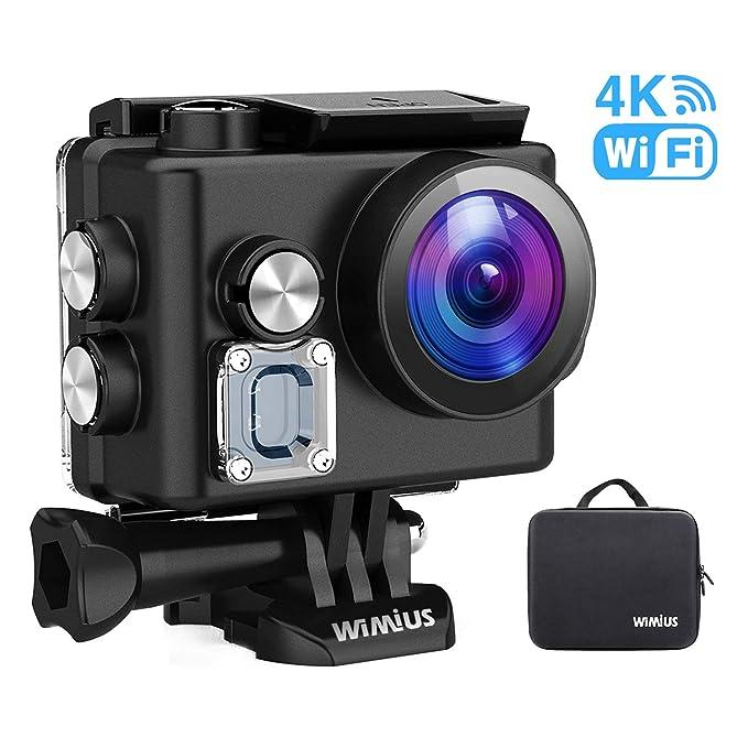 150 opinioni per WiMiUS Caméra d'action L2 4K, caméra Sport Ultra-HD 12MP Caméra sous-Marine