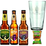 Thornbridge Brewery Mixed Christmas Gift Set Selection With Official Branded Thornbridge Glass
