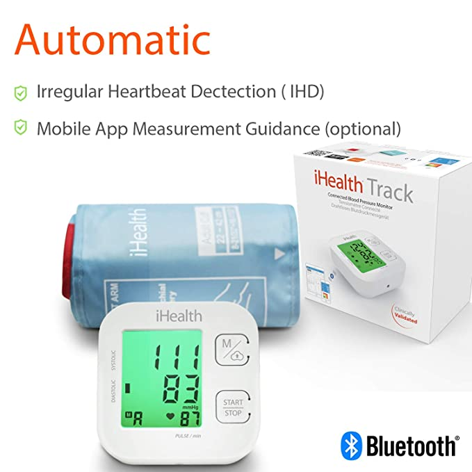 iHealth IHKN550BT Antebrazo Automático 1 Usuario(s): Amazon.es: Electrónica