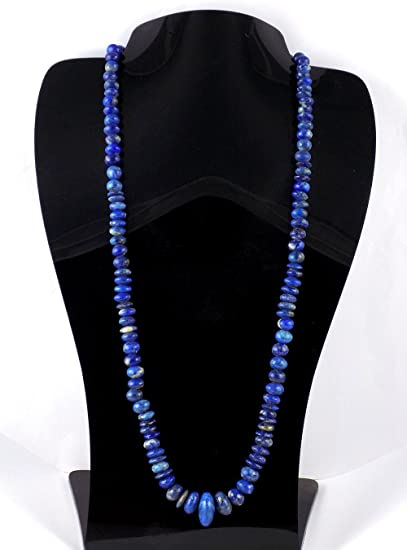 1 Strand Necklace Lapis Lazuli 6-9 MM Round Beads Smooth Genuine AA Quality Lapis Beads 19.5 Inches Long Strand
