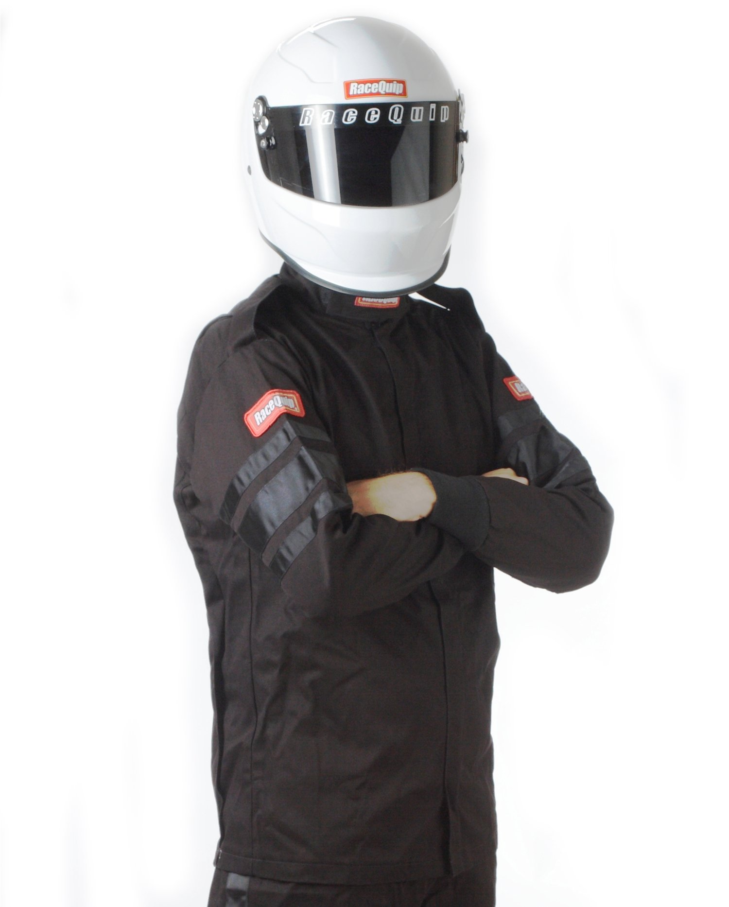 RaceQuip 111008 111 Series XXX-Large Black SFI 3.2A/1 Single Layer Driving Jacket