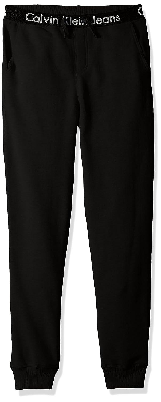 c61950c87e8f Amazon.com  Calvin Klein Boys  Logo Waistband Jogger  Clothing