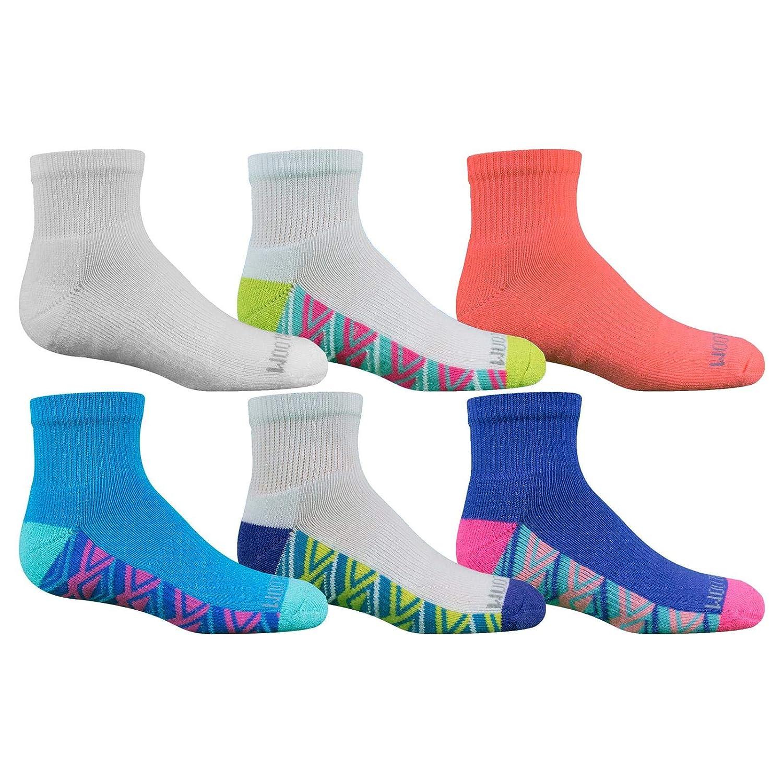 Fruit of the Loom Girls Ankle Socks 6 Pair