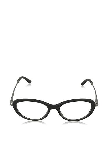 Giorgio Armani Für Frau 7046 Matte Black Gestell Aus Metall Und Kunststoff Brillen, 52mm