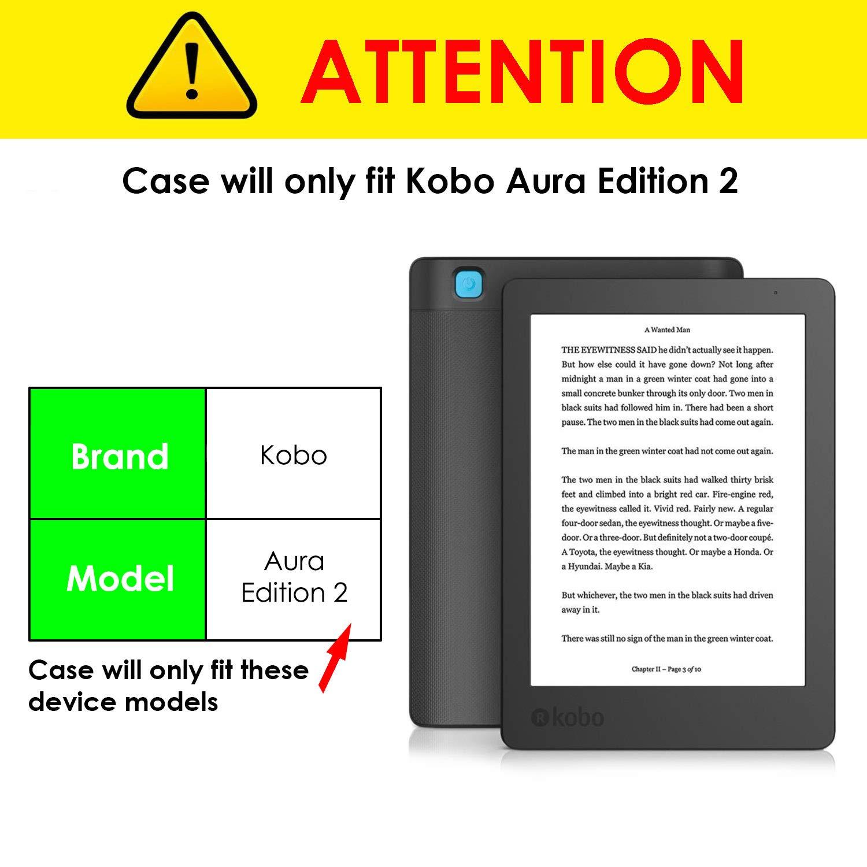 Forefront Cases Kobo Aura Edition 2 (Modelo 2016) Origami Funda ...