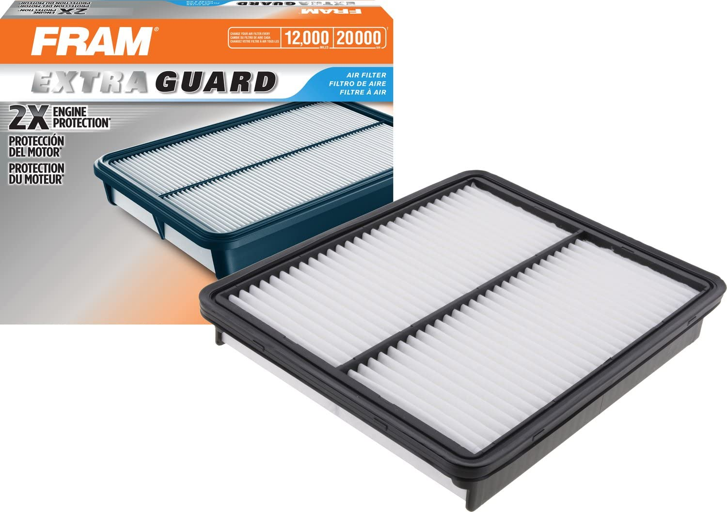 FRAM CA10881 Extra Guard Rigid Rectangular Panel Air Filter