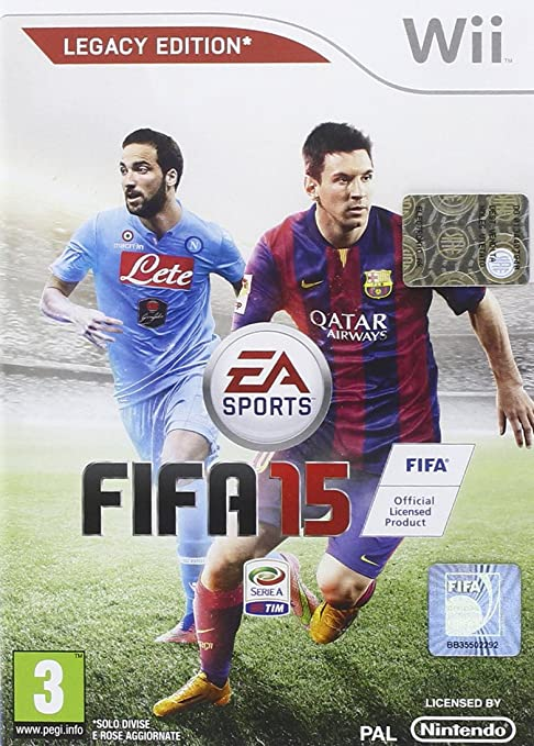 97 opinioni per FIFA 15- Nintendo Wii