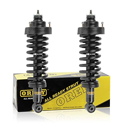 OREDY Rear Left & Right Complete Struts Assembly Shock Coil Spring Assembly  Kit 171322 15060 SR4051 Compatible with 2002 2003 2004 2005 Ford Explorer