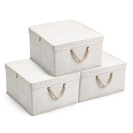 Amazon.com: MaidMAX - Cajas de almacenamiento plegables con ...