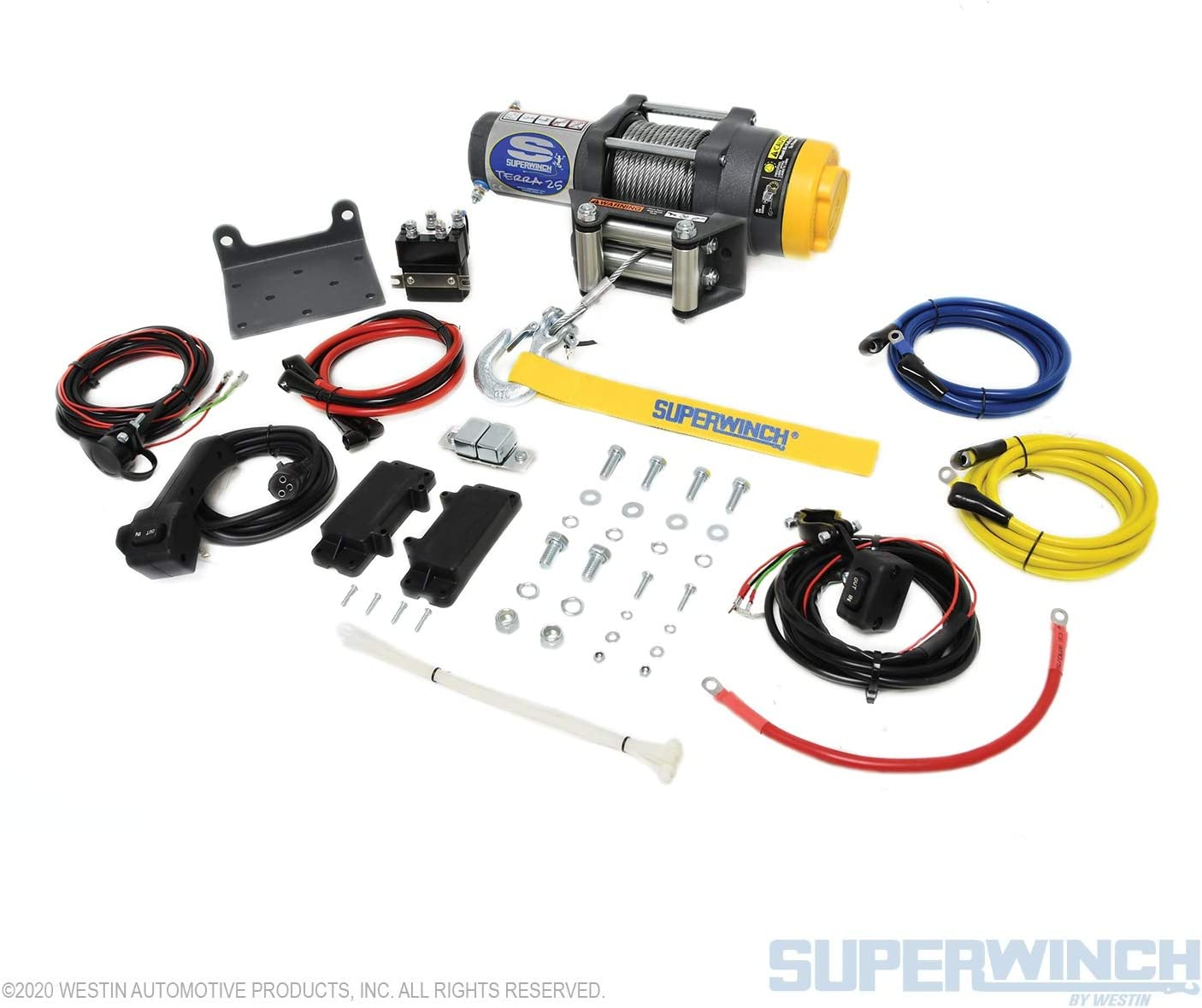 Superwinch A3500 12 volt electric winch kit