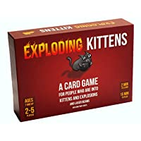 Exploding Kittens Card Game - Family-Friendly Party Games - Card Games For Adults...