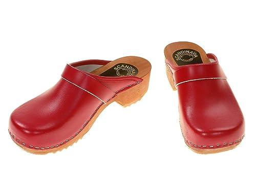 4eb763d6 berlin-clogs - Zuecos de cuero unisex: Amazon.es: Zapatos y complementos