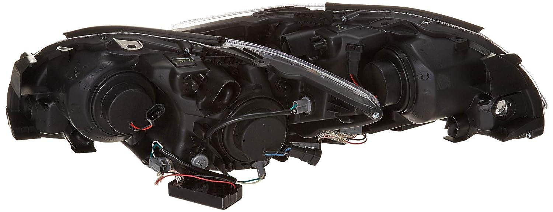 Ccfl Halo Spec-D Tuning 4LHP-TC05JM-KS Black Projector Headlight