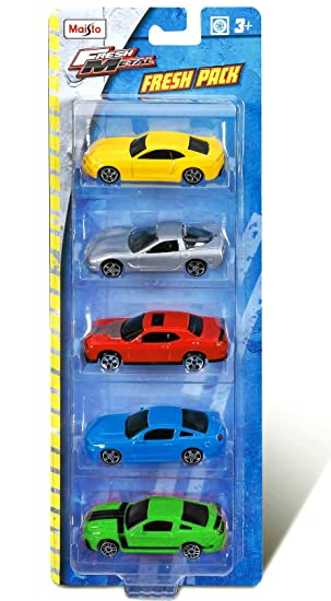 Maisto 7cm15017p Coches Pack 5 72 1 Colección Metal FJlc3K1T