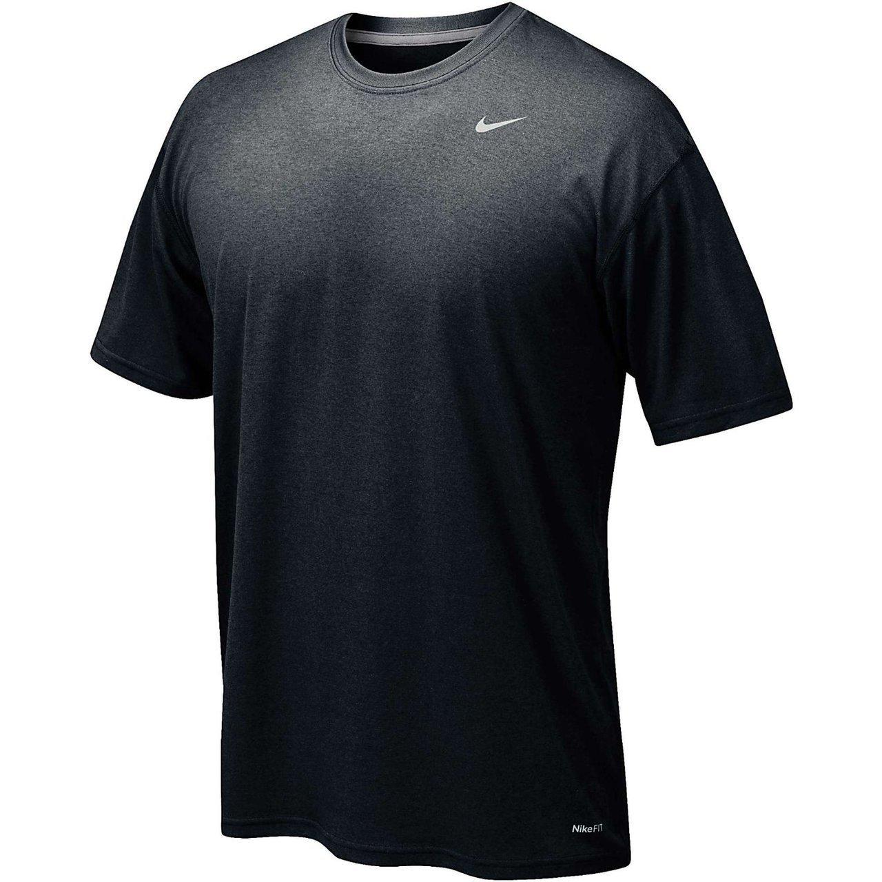 Nike Men's Legend Short Sleeve Tee, Black, L by NIKE