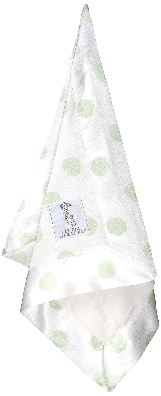 Little Giraffe Luxe Cemefarben Gepunktetes Schmusetuch (Celadon)
