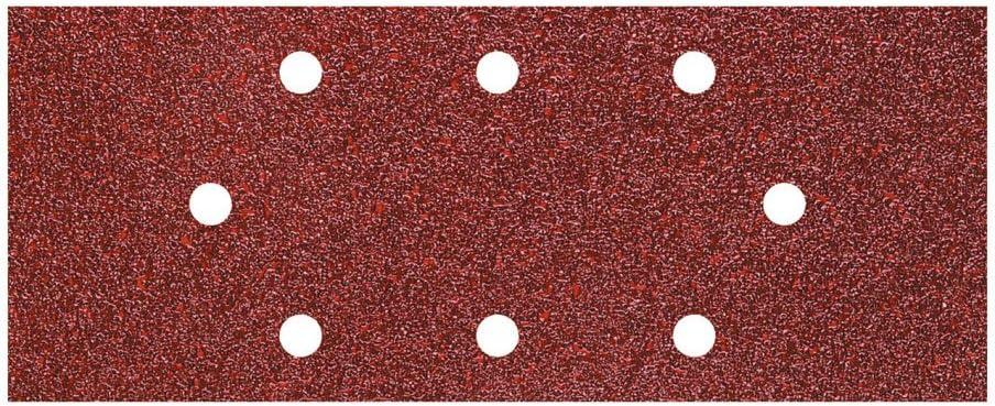 Wolfcraft 1973000 Patins abrasifs Grain 120 93 x 230 mm Lot de 5