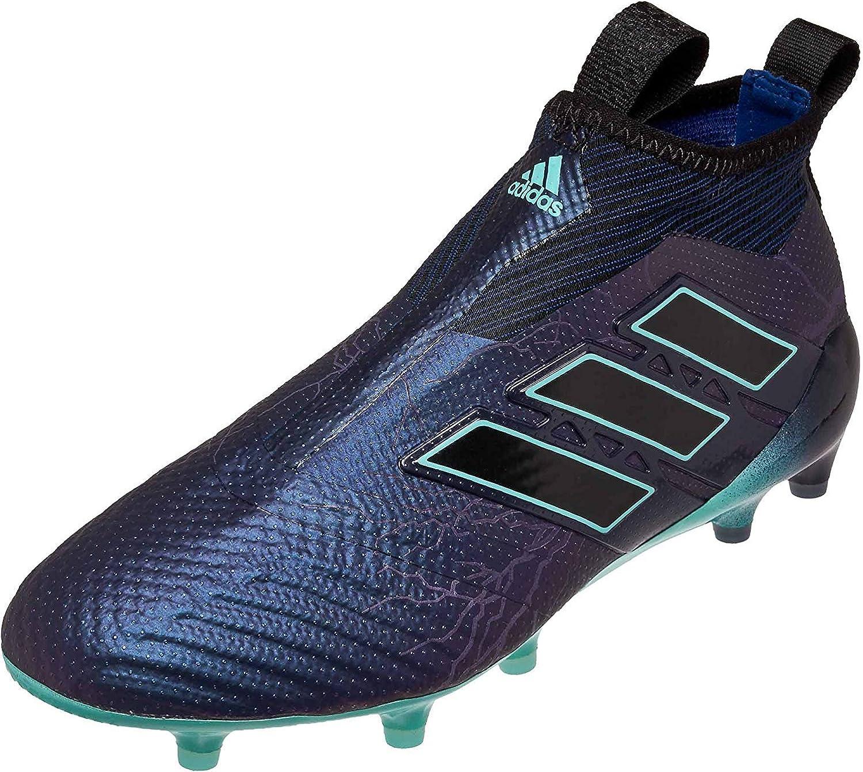 Goteo Maestro Contradicción  Amazon.com | adidas ACE 17+ Purecontrol Men's FG Soccer Cleats, S77165,  Legend Ink & Energy Aqua (8.5) | Soccer