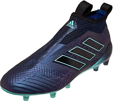 the latest 4b99b e6e71 adidas ACE 17+ Purecontrol Mens FG Soccer Cleats, S77165, Legend Ink   Energy