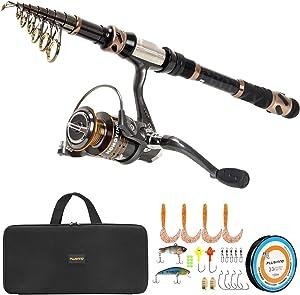Plussinno Carbon Fiber Fishing Rod