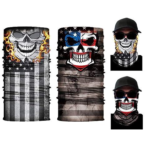 Amazon.com: Máscara cara cara de sol, máscara de media cara ...