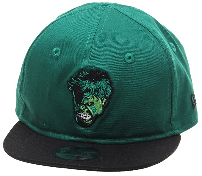 c0311695799 Image Unavailable. Image not available for. Color  New Era Hulk Hero  Essential 9fifty 950 Infant Snapback Cap Kids ...