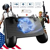 Mobile Game Controller [Upgrade Version] Mobile Gaming Trigger for PUBG/Fortnite/Rules of Survival Gaming Grip and…