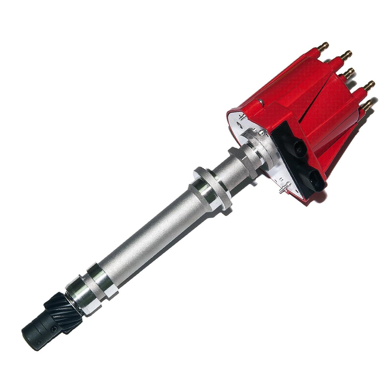 Brand New Compatible Ignition Distributor w/ Cap & Rotor KA-HUC6 85-95 Chevrolet GMC Pontiac truck van SUV V6 EFI 10482827 1103837 1103951 1104060 King Auto Parts
