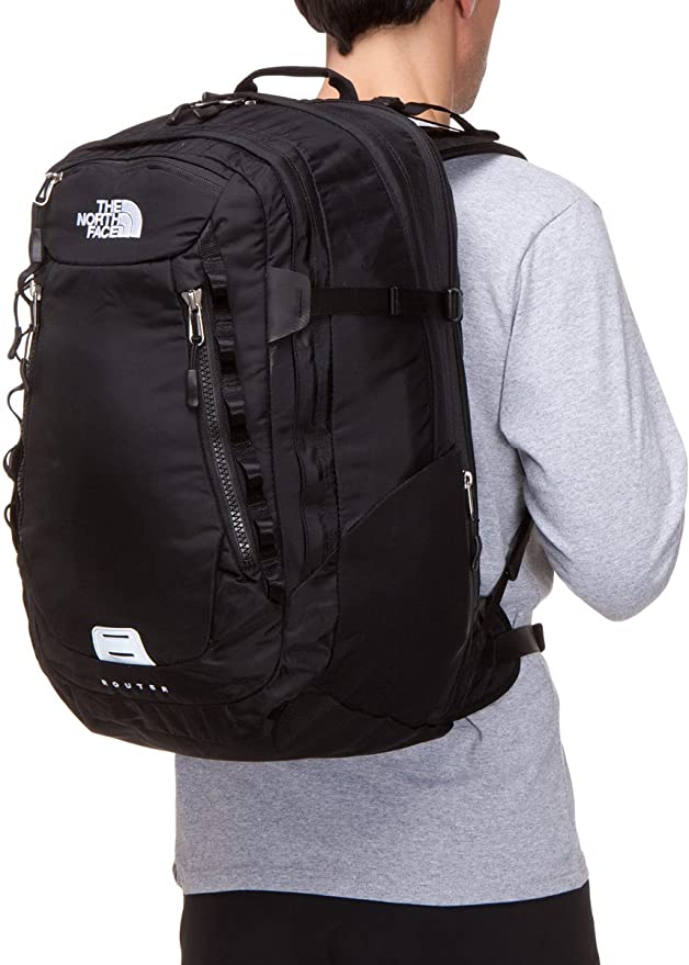 424eb99ee The North Face Router Backpack Black