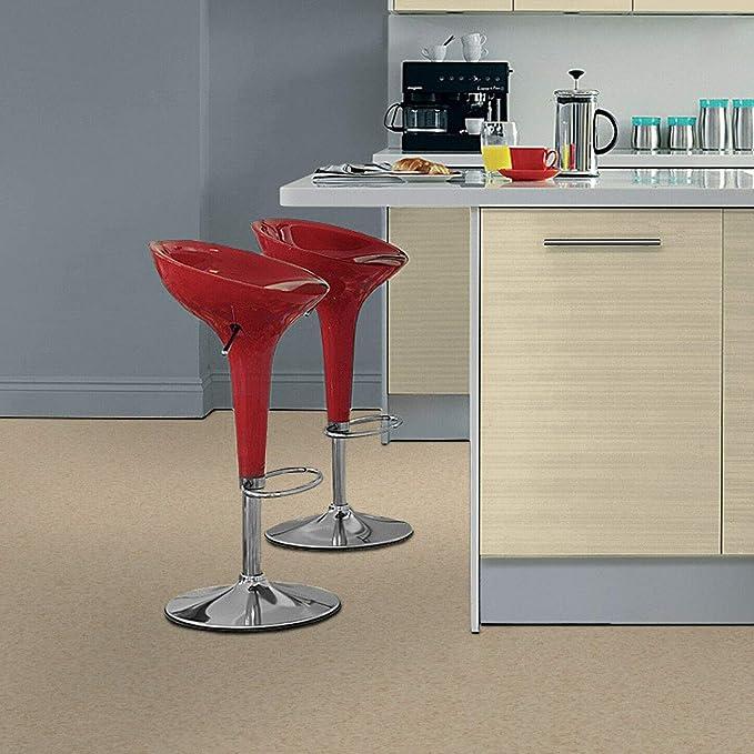 PVC Tarkett Excellence Topaz 70 Stencil Concrete Light Grey 19,95 /€ p. m/² Muster DIN A4