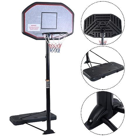 Canasta de baloncesto portátil canasta de baloncesto con soporte ...
