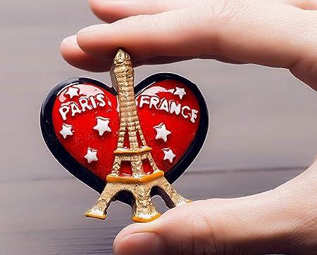 Imanes para nevera con diseño de la torre Eiffel de Francia ...