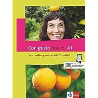 Con gusto nuevo A1: Kurs- und Übungsbuch mit MP3-CD und DVD