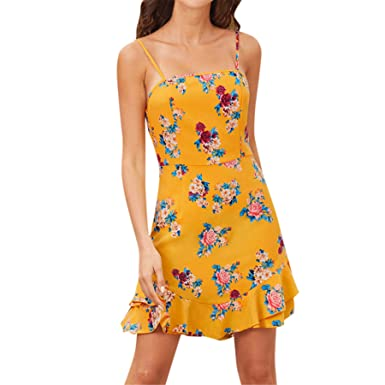 Amazon.com: Plus Size Summer Dresses for Women Cold Shoulder ...