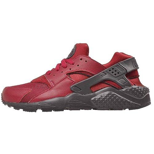 Nike Zapatillas Huarache Run Rojo/Negro Mujer: Amazon.es: Zapatos y complementos